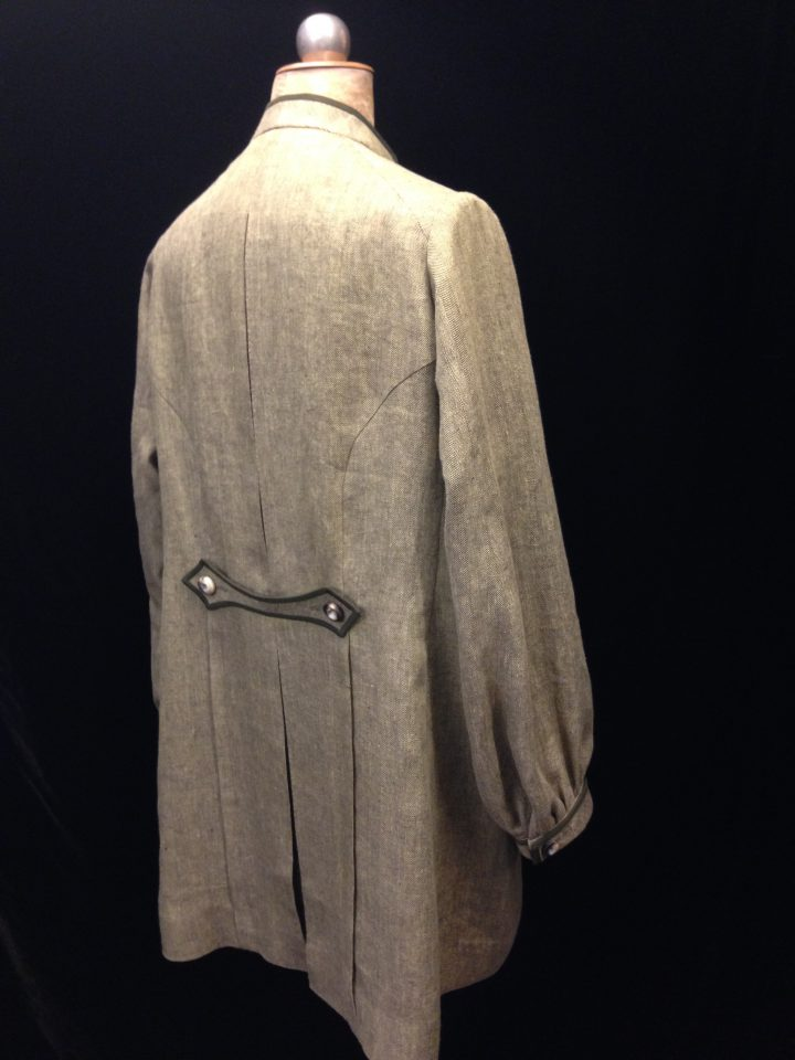 3 DAYS IN THE COUNTRY, Royal National Theatre, London 2015, Coat for Gawn Grainger