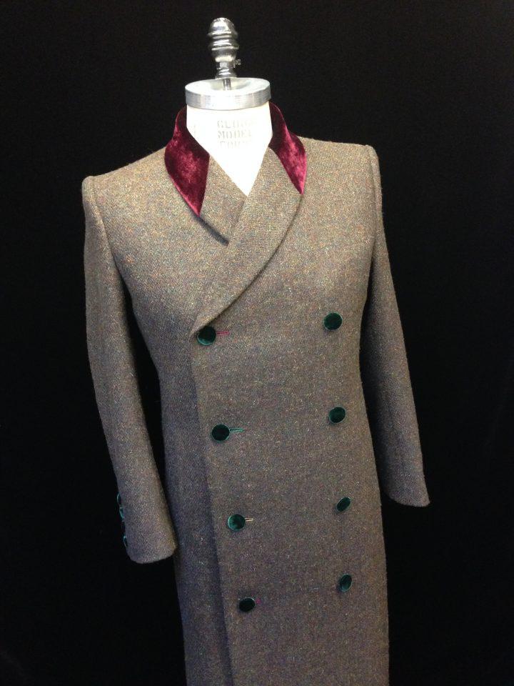 Thomas von Nordheim – coat in lovat Scottish homespun